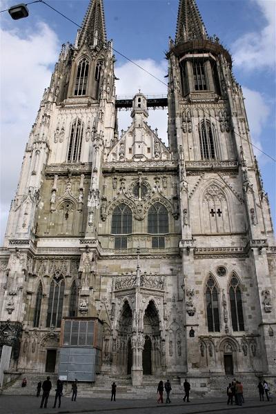 Regensburger Dom Portalansicht